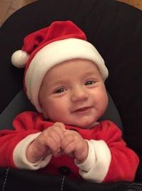 Noël c'est aussi la période où on peut déguisé son fils comme on veut !